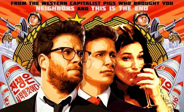 portada película The Interview