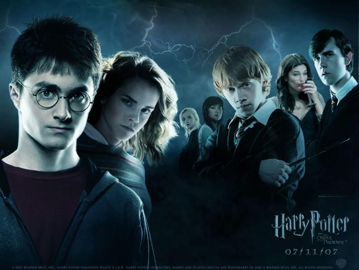 portada de la película de Harry Potter y la orden del Fénix