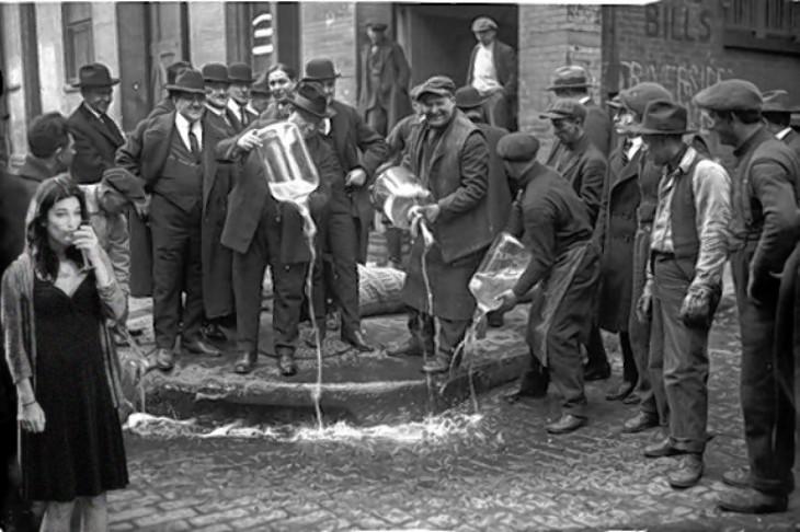 días de prohibición Nueva York en 1920
