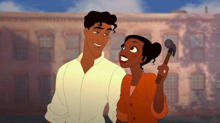 Príncipe Naveen de la princesa y el sapo sin barba