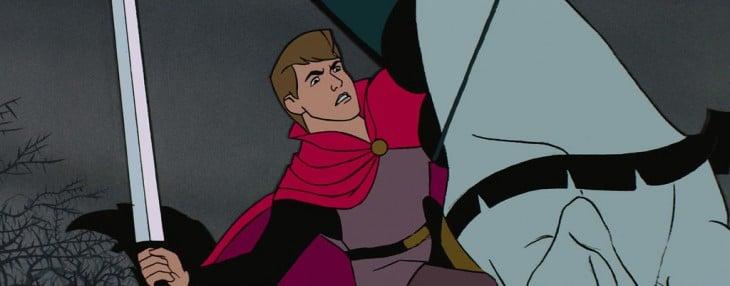 Príncipe Felipe de la película La bella durmiente sin barba