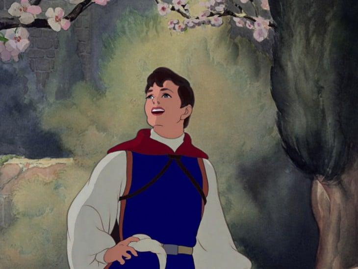 Príncipe Fernando de blanca nieves sin barba