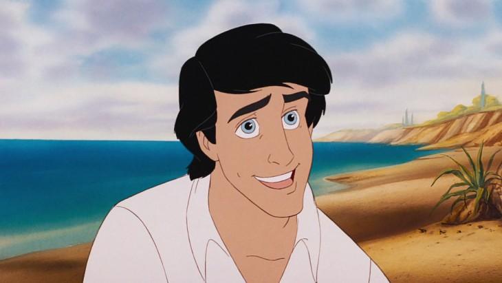 Príncipe Eric de La Sirenita sin barba