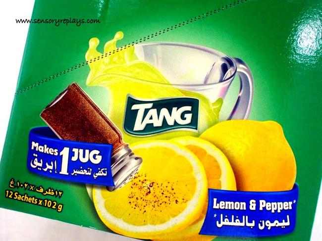 tang de lemón con pimienta