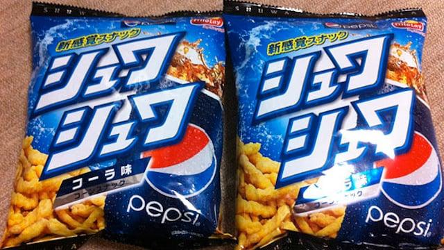 papas a la francesa sabor pepsi en japon