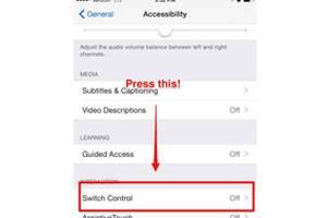 controlar tu iphone con la cabeza