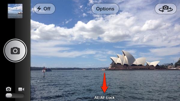 bloquea el enfoque y la exposición de la cámara de tu iPhone