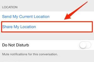muestra la ubicación de tu iPhone