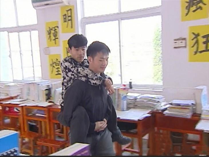 Xie Xu studebt chinese