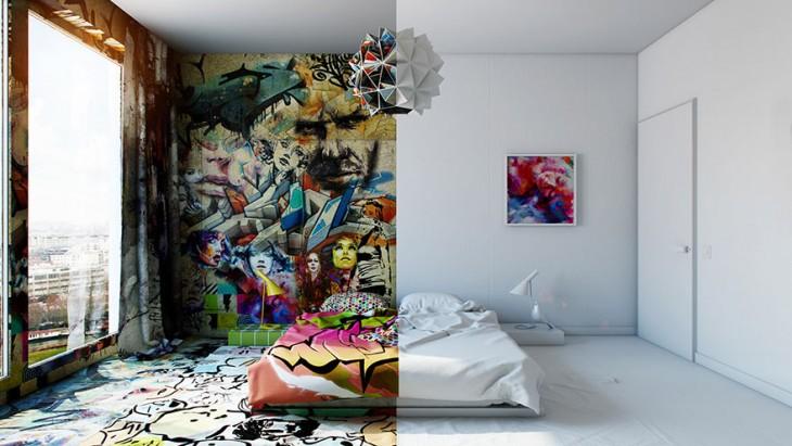 pavel veltrov habitacion contraste toda la abitación