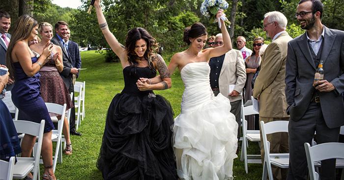 foto de boda gay