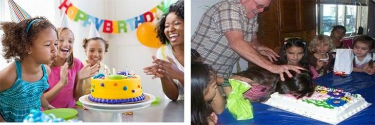 en la fiesta de cumpleaños madres vs padres gracioso funny lol