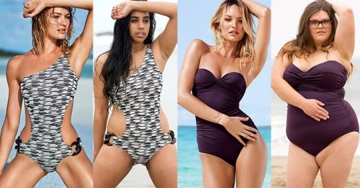 mujeres comparan trajes de baño de victoria secret