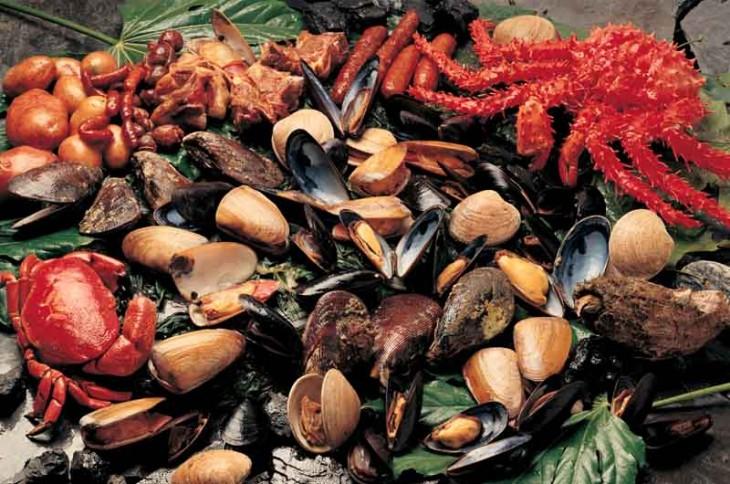 Curanto comida tipica de chile