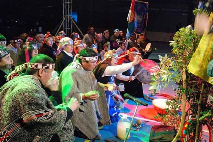 cultura mapuche, chile