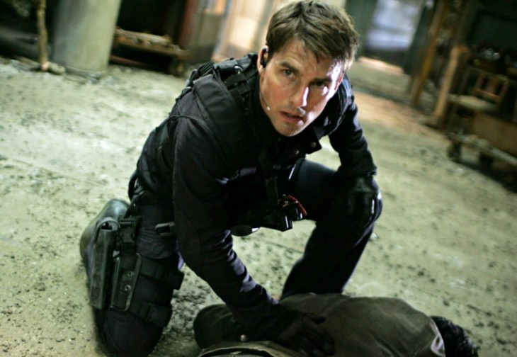tom cruise en mision imposible