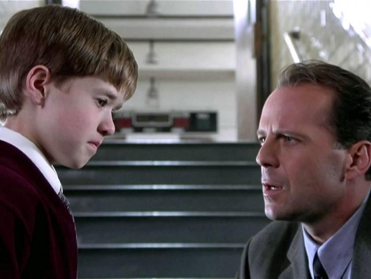 9. Bruce Willis – El sexto sentido