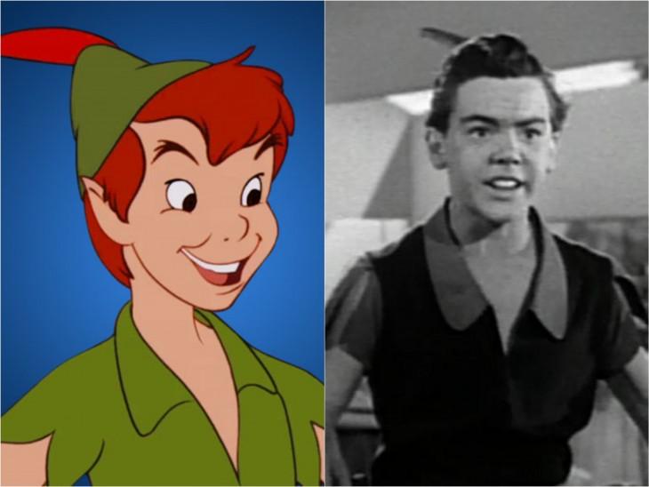 Peter Pan & Bobby Driscoll