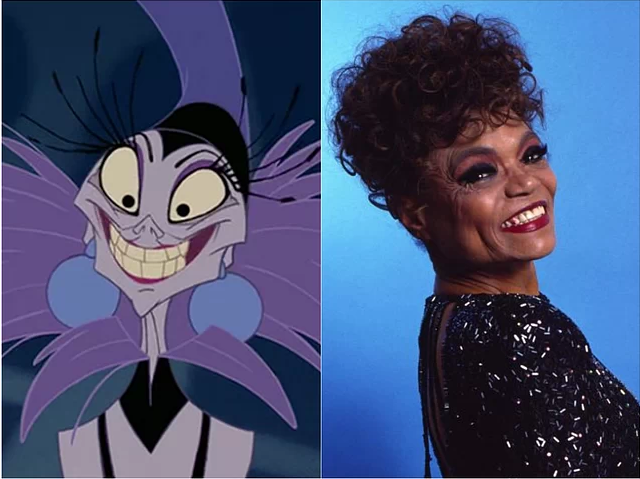 Yzma & Eartha Kitt