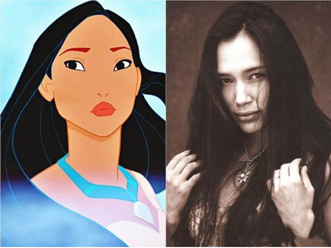 Pocahontas & Irene Bedard