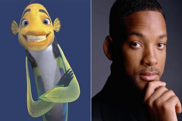 Oscar del Espantatiburones y Will Smith
