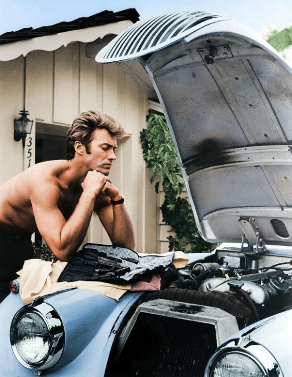 Clint Eastwood acto 1960