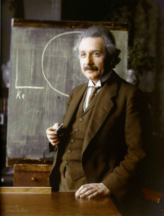 Albert Einstein, Físico. 1921