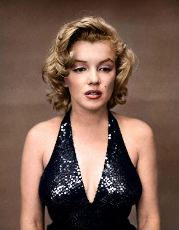 Marilyn Monroe, actriz. 1957
