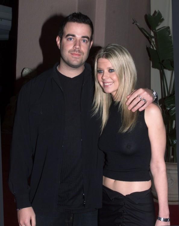 Tara Reid y Carson Daly