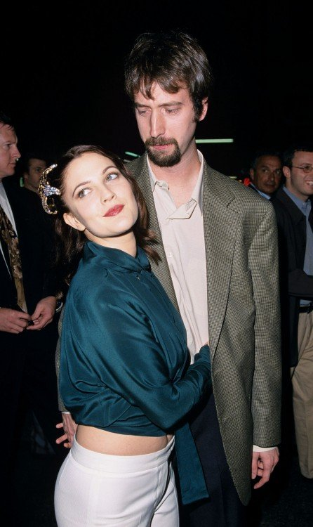 Tom Green y Drew Barrymore