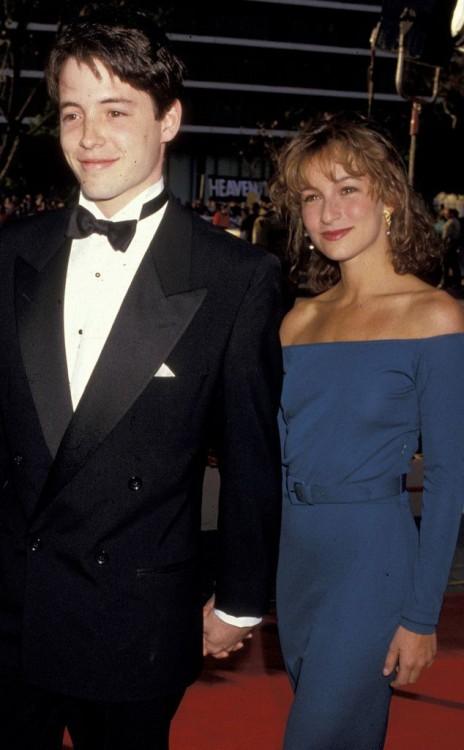 Las dos estrellas de 'Ferris Bueller Day Off' salieron brevemente en 1987 durante el rodaje de la película.