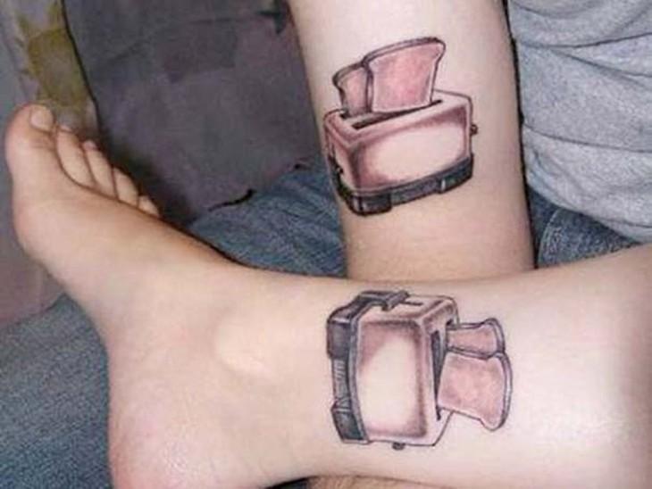 tatuajes tostadora para parejas