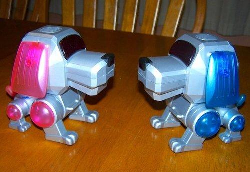 perritos robot