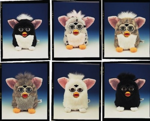 colección especial de furby de los noventa que todo niño queria tener