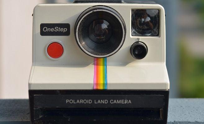 polaroid de fotos instantaneas