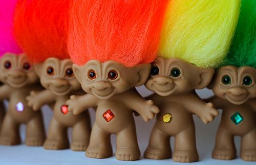 muñecos trolls