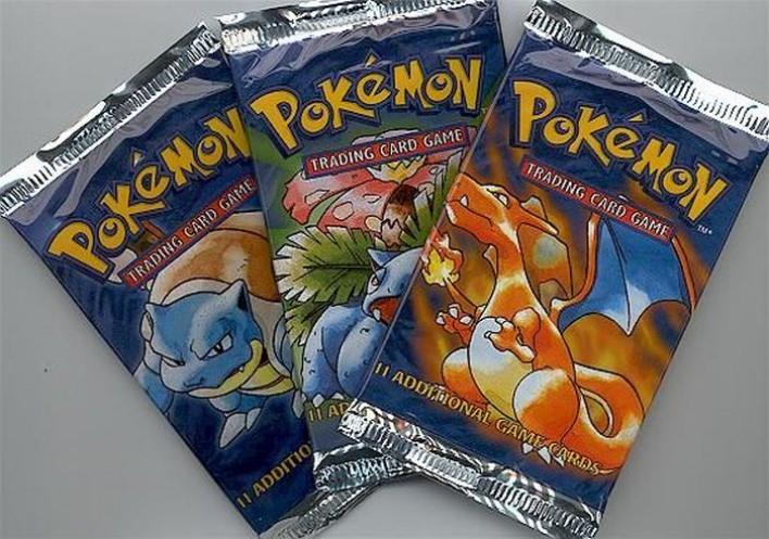 estas tarjetas de colección de pokemon