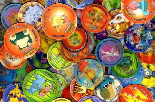 la coleccion de tazos