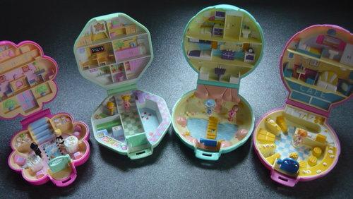 las muñecas y las casitas de polly pocket