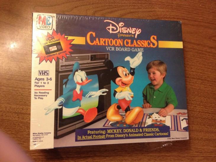 Juego de mesa VCR Cartoon Classics: $85