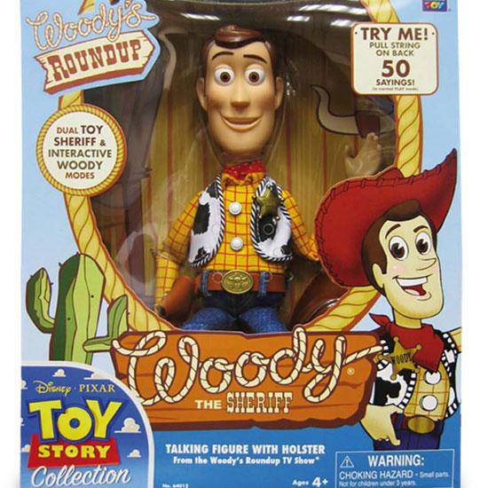 Muñeco parlante de Woody de Toy Story: $300