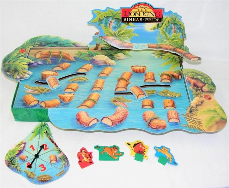 Juego Hop-A-Croc Swamp de El rey león: $137.22