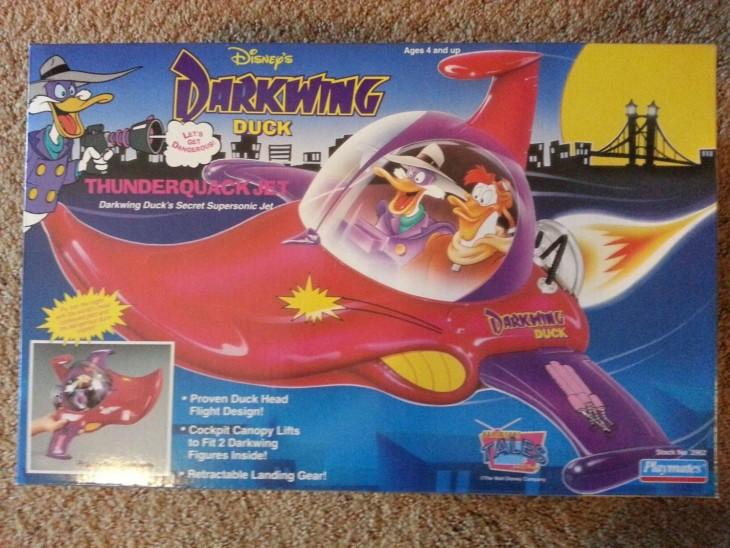 Avión Thunderquack de Pato Darkwing: $275