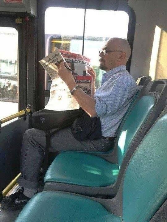 Walter White de Breaking Bad