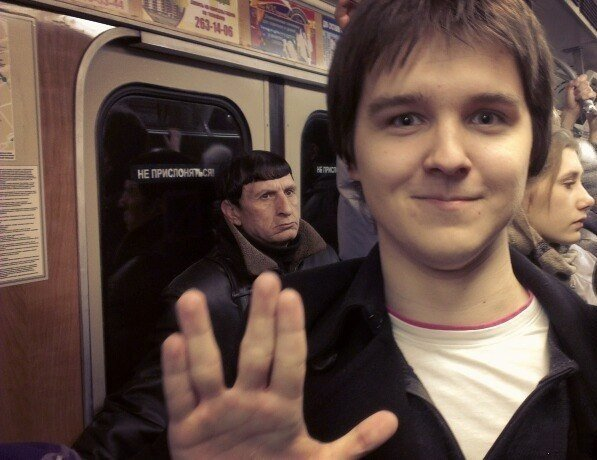 doble de mr spock