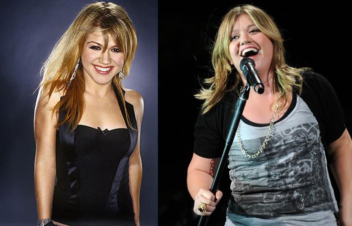 Kelly Clarkson gorda