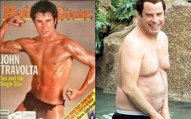 Jhon Travolta gordo