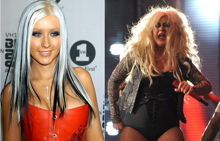 Christina Aguilera gorda