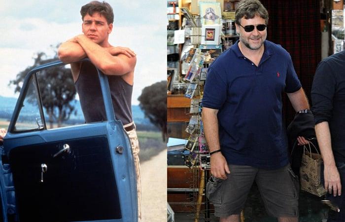 Russell Crowe gordo