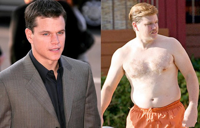 Matt Damon gordo